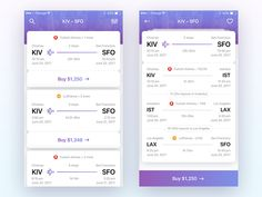 Flight Booking App by Egor Gorev
