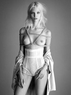 Sasha Luss for Exhibition magazine 2014