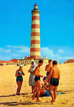 Praia da Barra, Aveiro, Portugal 60's
