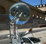 Ayasha Guerin Rawlemon's Spherical Solar Energy-Generating Globes Can Even Harvest Energy from Moonlight  Read more: Rawlemon's Spherical Solar Energy-Generating Globes Can Even Harvest Energy from Moonlight | Inhabitat - Sustainable Design Innovation, Eco Architecture, Green Building