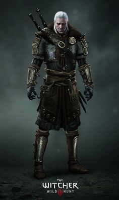 The Witcher 3: Wild Hunt Skellige Armor, Marek Madej on ArtStation at https://www.artstation.com/artwork/WGNRQ