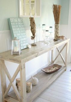 White console table Renaissance. by Paradiseoffurniture on Etsy