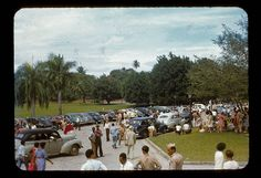 Wow! Election day, UPR, Rio Piedras    Before June 1949. Paul Weaver photo