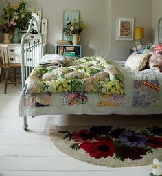 Odd, never ever been into shabby chic but starting to really like it. Must be getting mellow...