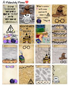 Harry Potter Inspired Hand-Drawn Weekly by AMelancholyMoose