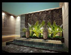 4 contoh desain taman belakang rumah yang cantik planter
