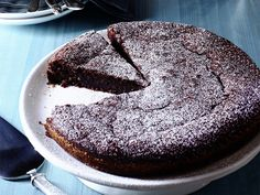 Chocolate-Almond Torte from #FNMag