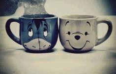#cartoon #coffe #cute #pooh