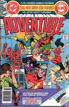 Adventure Comics # 461 from January -- February 1979
