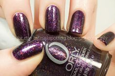 """Orly """"Fowl Play."""" Adore this color"""