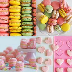 Ako vyuzit srdieckovu podlozku z Tchibo :) Macarons, Great Recipes, French, Cake, Kitchen, Desserts, Food, Tailgate Desserts, Cooking