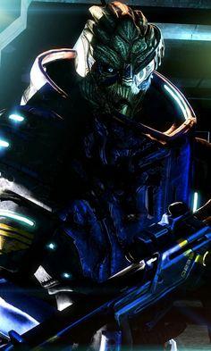 Garrus Vakarian [Mass Effect] Mass Effect Garrus, Mass Effect 2, Beyond Two Souls, Commander Shepard, Best Sci Fi, Life Is Strange, Video Games, Star Wars, Darth Vader
