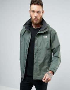 The North Face Resolve 2 Jacket Stoweaway Hood in Green