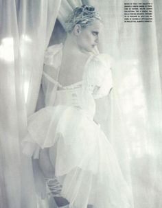 Sasha Pivovarova & Guinevere van Seenus in A White Story by Paolo Roversi Vogue Italia April 20107.jpg