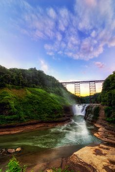 letchworth state park Upper Falls At Letchworth Photograph - Upper Falls At Letchworth Fine Art Print Beautiful World, Beautiful Places, Letchworth State Park, The World's Greatest, Day Trips, State Parks, Places To See, Fine Art America, Nature Photography