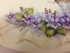 Violets closeup - Cheryl Meggs