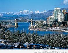 Vancouver winter destination for 2015