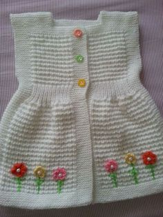 Crochet Bebe, Crochet Baby Clothes, Baby Patterns, Baby Knitting, Summer Dresses, Silk, Sweaters, Cardigans, Asd