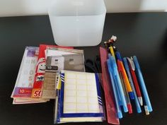 Organizare: Accesorii birou – serenity now Serenity Now, Everything, Give It To Me, Office Supplies, Canning, Home Canning, Conservation