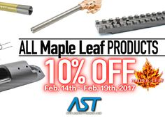 Maple Leaf Product Sale At Airsoft Taiwan
