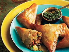 Leftover Mashed Potatoes: Vegetable Samosas | Transform your holiday leftovers into dazzling new dishes and give yourself the night off.