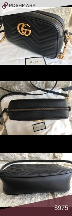 09e86d8119c Spotted while shopping on Poshmark  Authentic Gucci Marmont Chain Shoulder  Bag!  poshmark