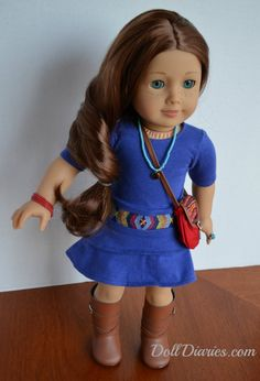 American Girl of the Year Saige Meet Outfit