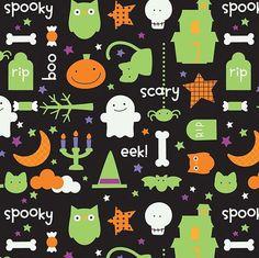 Cute Halloween Fabric
