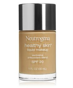 "Neutrogena Healthy Skin liquid foundation - review via ""What a Bind"""