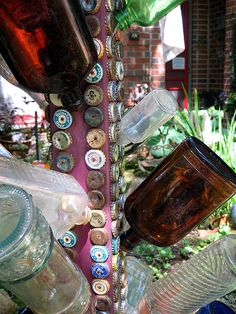 Nina's bottle tree by Pandorea..., via Flickr