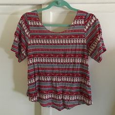 26820ff228 Open back blouse PERFECT for summer time! Never before worn open back  blouse Forever 21 Tops Tank Tops