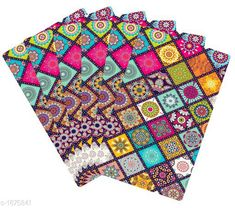 Checkout this latest product Product Name: *Drawer Mats(Pack Of 6)* Material :PVC Size ( L  X B) : 12 in X 18 in Description : It Has 6 Pieces Of Drawer Mats Work : Printed Country of Origin: India Easy Returns Available In Case Of Any Issue   Catalog Rating: ★4.2 (2818)  Catalog Name: Apex Unique Kitchen Drawer Mats Vol 2 CatalogID_247197 C129-SC1635 Code: 951-1875841-732