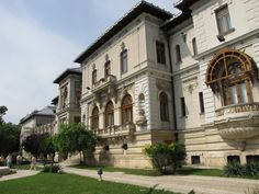 Cotroceni Palace is the official residence of the President of Romania. in Bucharest, Romania. The palace also houses the National Cotroceni Museum. Commercial Architecture, Art And Architecture, Little Paris, Bucharest Romania, Central Europe, Beautiful Places, Mansions, House Styles, Dan