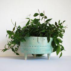 Image of Extra large bowl //turquoise