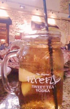 Mason Dixon Cocktail- Sweet Tea Vodka and Lemonade...how wonderfully southern