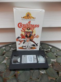 A Christmas Story Movie VHS Tape White Clam by PfantasticPfindsToo, $5.99
