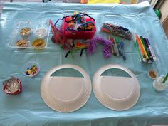 Learn with Play at home: Paper plate bag