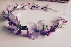 Martinuska / Zimná vianočná Handmade Headbands, Crown, Accessories, Jewelry, Corona, Jewlery, Jewerly, Schmuck, Jewels