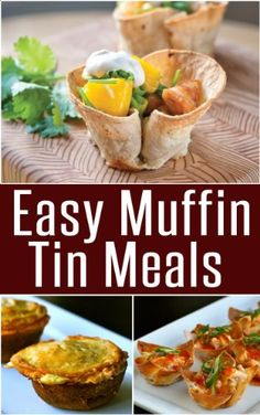 Easy Muffin Tin Meals....a must for all lap band patients.  You get the yumminess of a meal but in the perfect size for us bandsters.