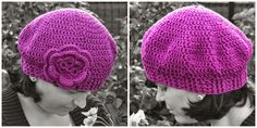 Clara, crochet hat, pattern ebook #sternenzauber