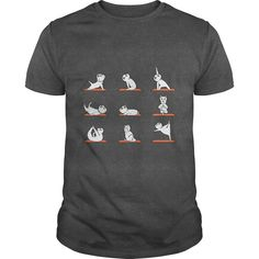WESTIE YOGA mother art, mother baby, mother film perfect fathers day gift, diy fathers day gifts ideas from kids, diy gifts for mothers day Tshirts Online, Cool T Shirts, Shirt Style, Long Sleeve Tees, Sweater, Hoodie, Sweatshirts, Westie Puppies, Mens Tops