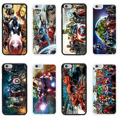 #Marvel #superhero case cover for #apple iphone 4 4s 5 5s 6 6 plus - 21,  View more on the LINK: http://www.zeppy.io/product/gb/2/400905719272/
