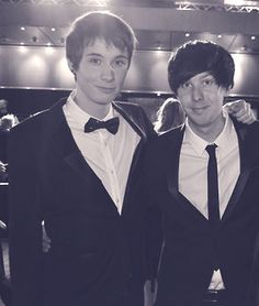 """So, I'm only about to phil s chest, right? So you can imagine what its like standing next to dan for me. I also have a brother that's taller than dan, 6 5"""", so yeah..."""