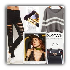 """9/18 romwe"" by fatimka-becirovic ❤ liked on Polyvore featuring vintage"
