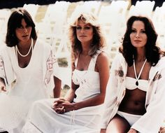 charlies angels i used to play this with my friends.  i was farrah, lisa was sabrina, and abs was kelly.  oh my!!
