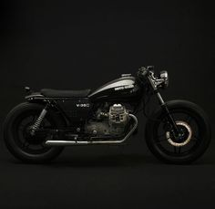 '87 Moto Guzzi V35 C by Venier Customs