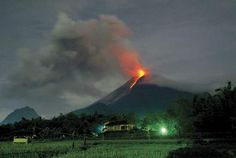 Mount. Merapi, Indonesia