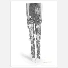 Claudia Libenberg - Ripped Jeans