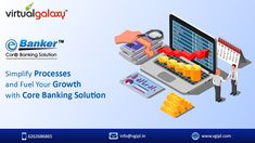 E-Banker Core Banking Solution provides high level of Standardization with the cutting edge ability that helps in SPEEDY, CONSISTENT and ACCURATE DECISIONS making. Speed up your work progress with E-Banker, a perfect financial assistant with all modules. Free Banking, Banking Software, Banking Services, Bank Financial, Risk Management, Financial Institutions, High Level, Core