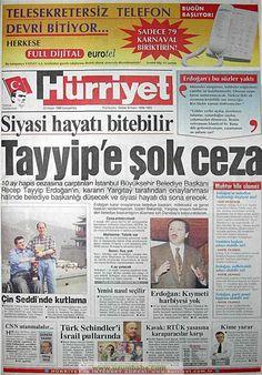 Newspaper Headlines, Old Newspaper, Turkey History, Good Sentences, Historical Pictures, Old Photos, Karma, Istanbul, Nostalgia
